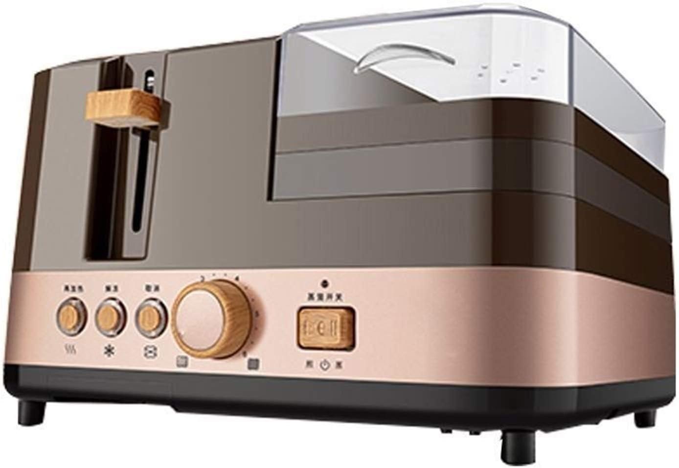 Toaster 4 In 1 Multifunction Electric Breakfast Machine Toaster Sandwich Machine Household Frying Pan Bread Maker Egg Steamer