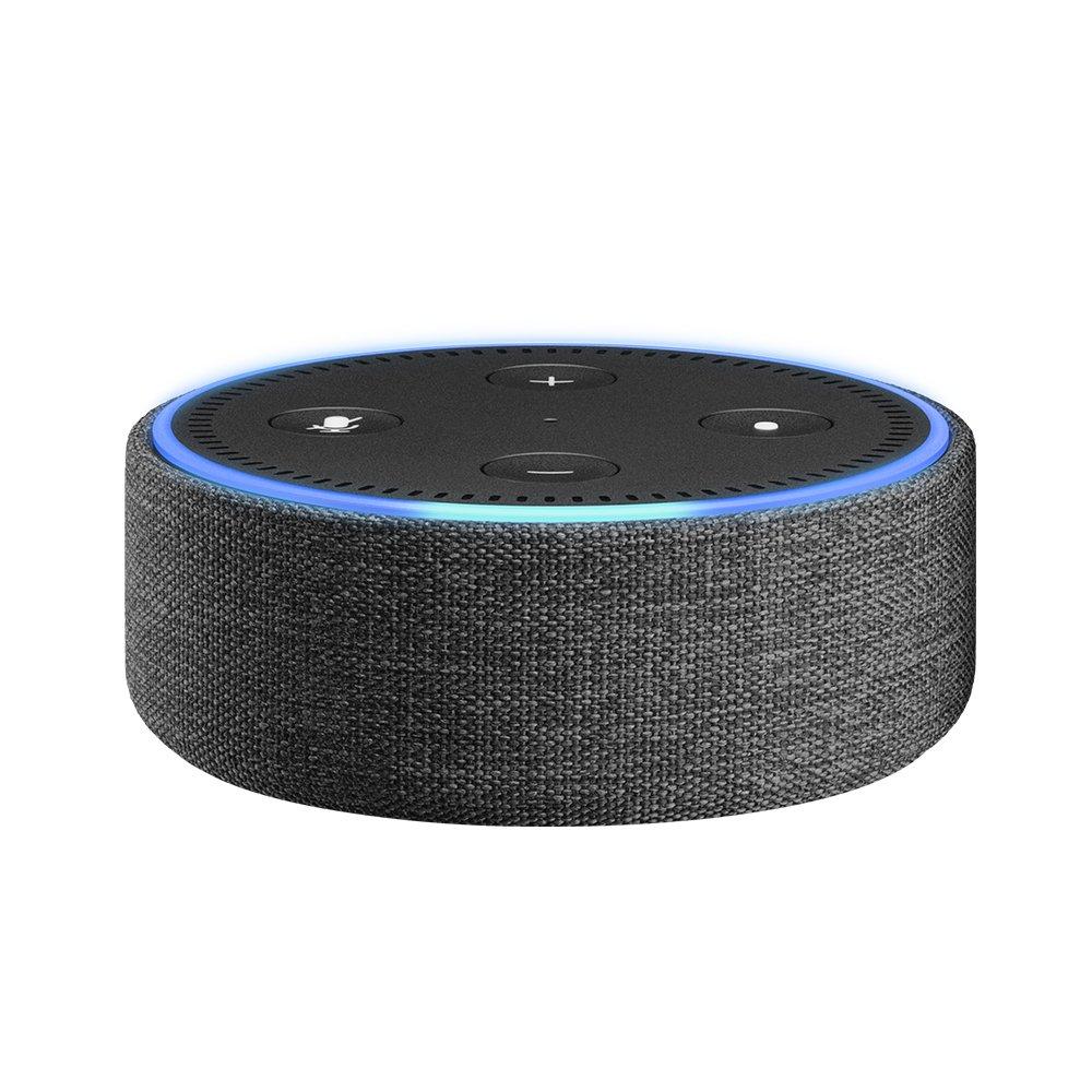 Amazon Echo Dot Case (fits Echo Dot 2nd Generation only) - Charcoal Fabric