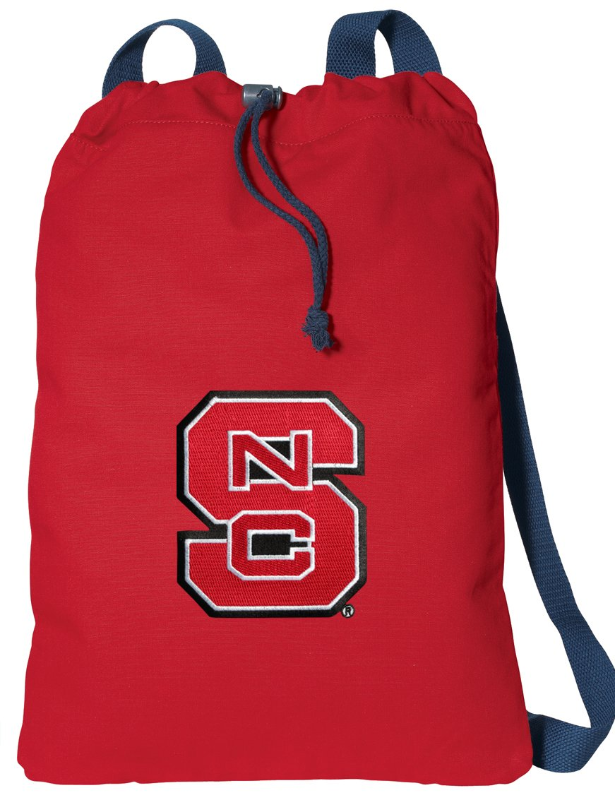 NC State Wolfpack DrawstringバックパックキャンバスNC状態Cinch Pack B00O5G7WY2