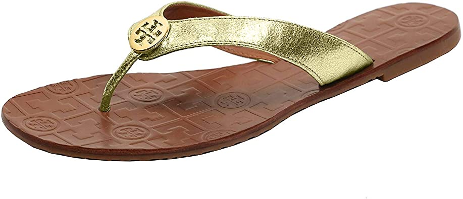 NIB TORY BURCH Black Thora Thong Leather Sandals *** CHOOSE YOUR SIZE ***