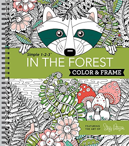Pdf Crafts Color & Frame Adult Coloring Book - In the Forest