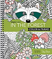 Color & Frame Coloring Book - In the Fo