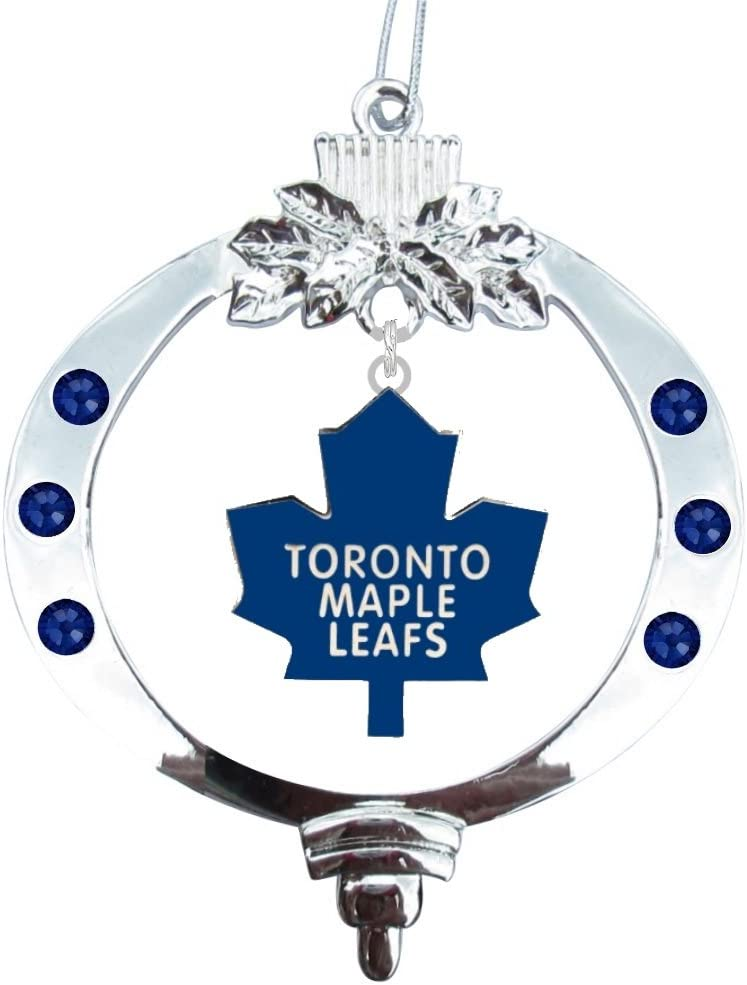 Amazon Com Final Touch Gifts Toronto Maple Leafs Christmas Ornament Sports Outdoors