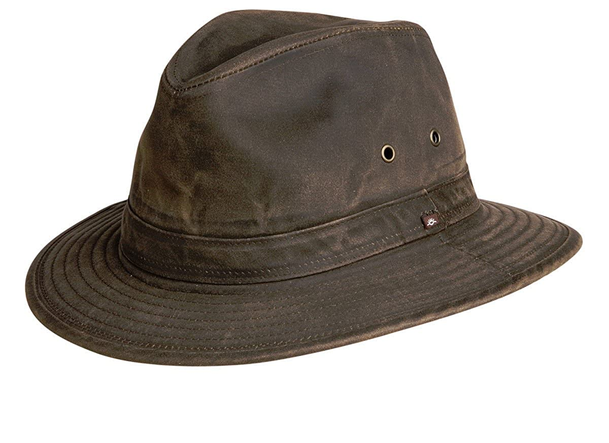 Indy Jones Mens Water Resistant Cotton Hat Y1085
