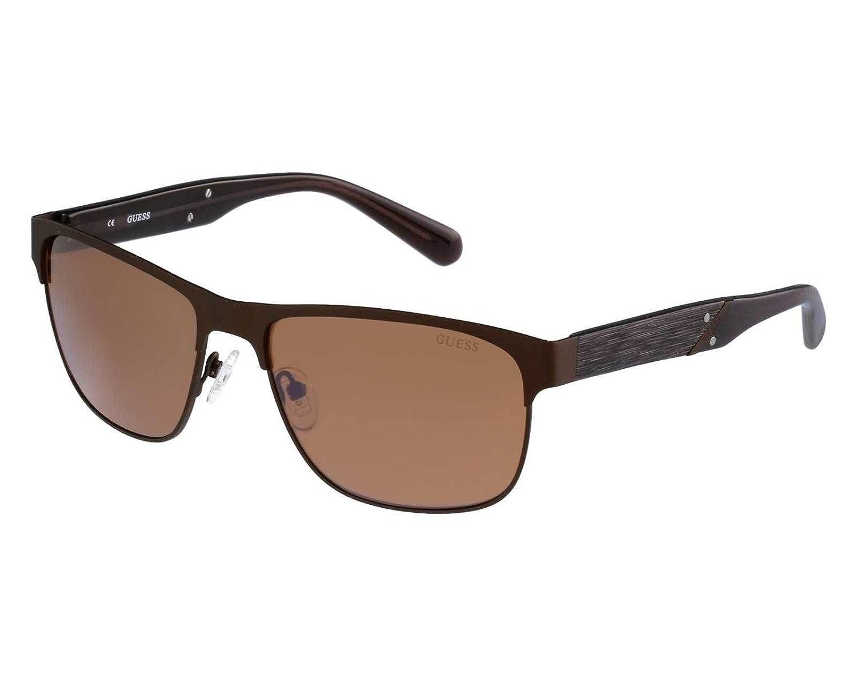 d86717551ce GUESS Men s GU6807BRN-1 Sunglasses Brown (Marrón) 59  Amazon.co.uk  Clothing
