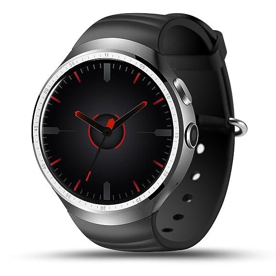 Reloj Lanspo Lemfo LES1 Bluetooth 3G SIM Smart Watch Teléfono 1/16 GB GPS WiFi