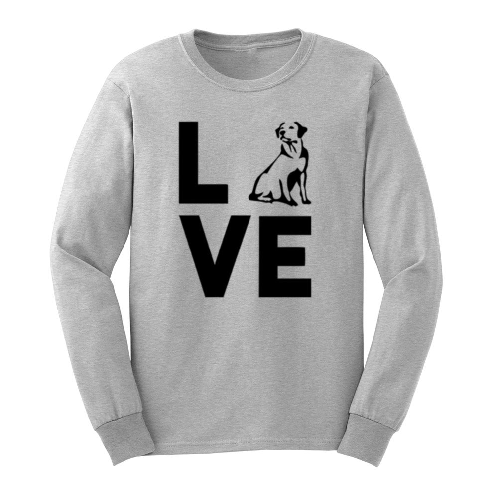 Loo Show S Labrador Love T Shirts Casual Tee