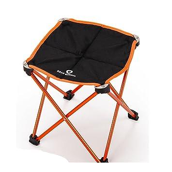 Momoai Acampar al Aire Libre Silla Plegable Ultra - Silla ...
