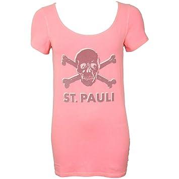Frauen T Damen Shirt Fc xl Fanartikel Oberteil Pauli St Ruby Totenkopf qZPxCpT