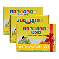 Einstein Box Birthday Gift for 4 to 6 Year Old Boys and Girls (4ABC) - Set of 3