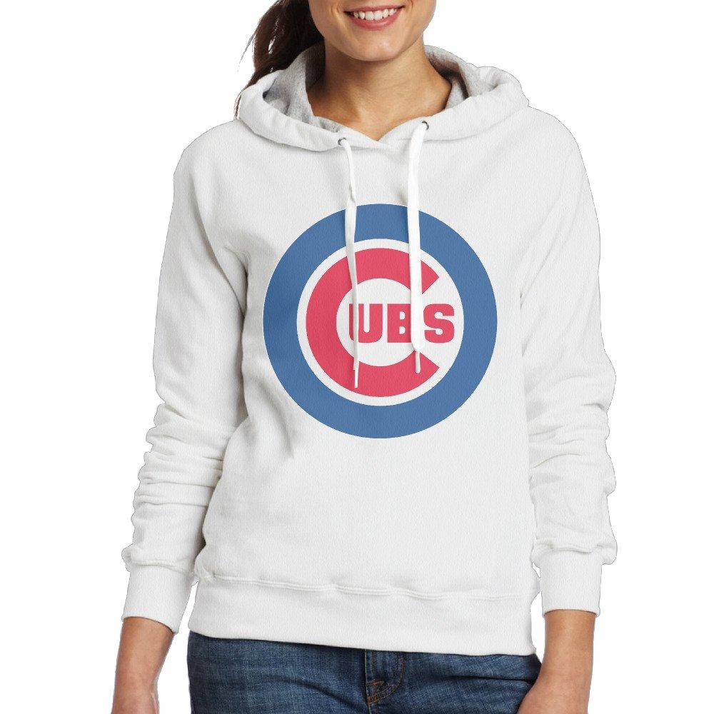 LOYRA Women's Chicago Baseball Team Sweater White