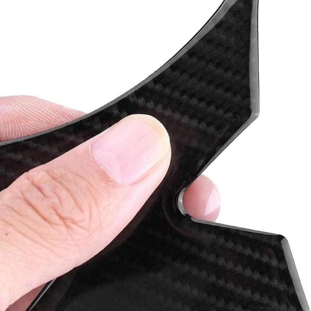 YEEXCD Motorcycle Tank Gas Protector 3D Carbon Fiber Fish Bone Anti-Scratch Sticker Fuel Tank Pad for K-AWASAKI Z1000 14-16