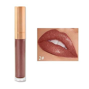 Lèvre 6 Couleurs Glossy LiquidationOsyard Beauté Velours Nu nwOk08P