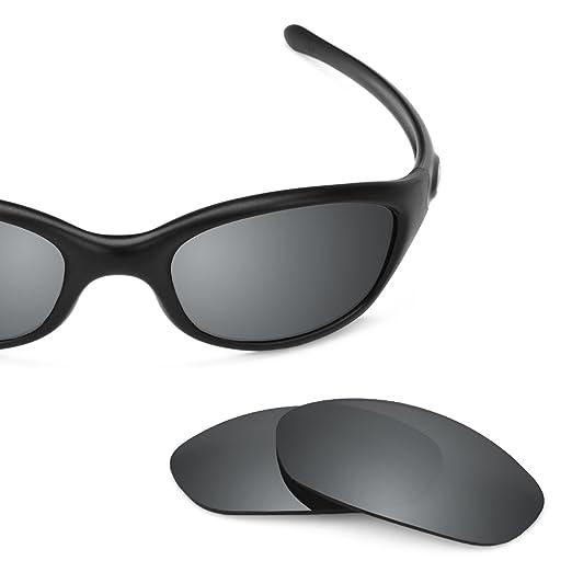 d0cf819531a Revant Polarized Replacement Lenses for Oakley Fives 2.0 Elite Black Chrome  MirrorShield