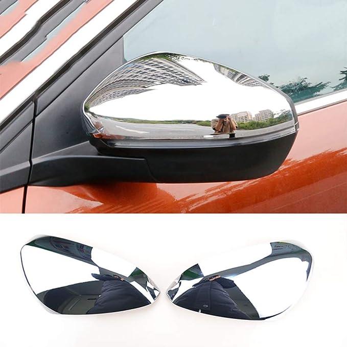 ABS Chrome Porte lat/érale de r/étroviseur Mirror Cover Trim 2/pcs