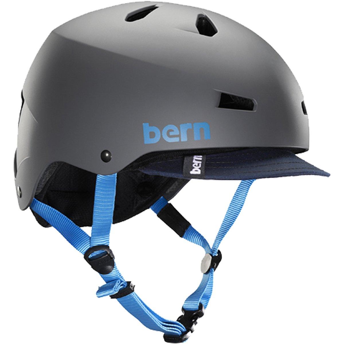 (バーン)Bern MACON VISOR Matte GREY BE-VM2BHMGRV-02 XL  B00CZ36658