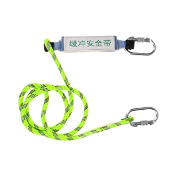Gazechimp 1.5M Protección Contra Caídas Amortiguador de Cuerda ...