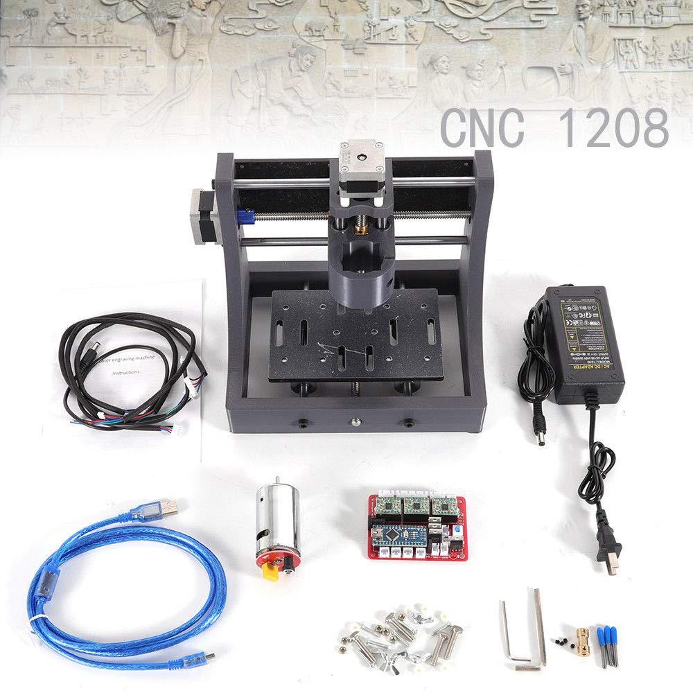 1208 USB Fräse Router Maschine Kit Desktop-CNC-Graviermaschine Mini Mill Machine