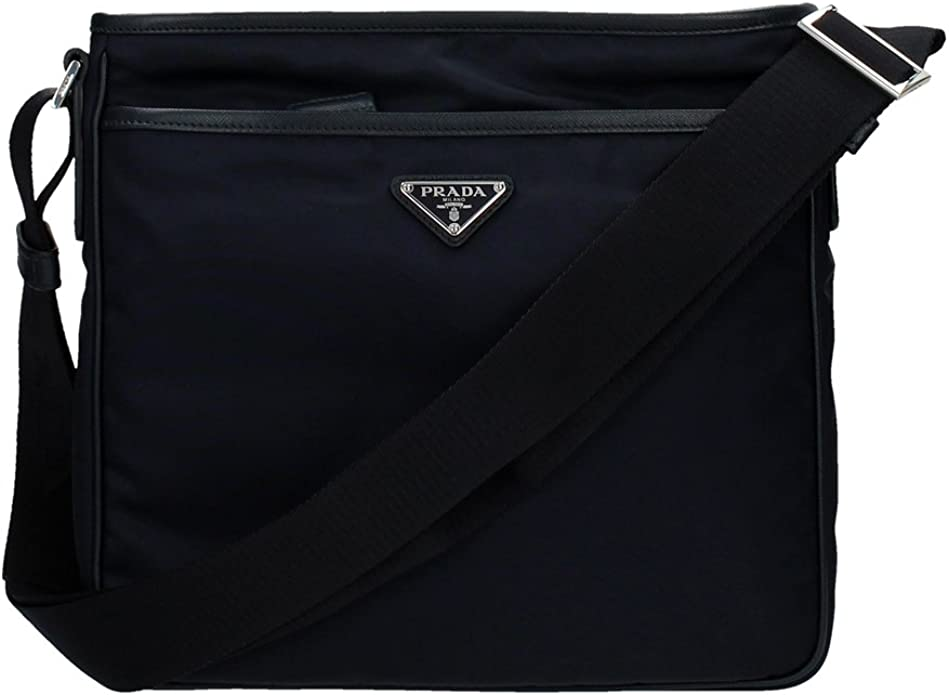 Prada Borse a Tracolla Uomo Nylon (2VH797BLEU): Amazon.it