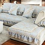 Sofa cushions,four seasons universal living room modern simple non-slip garden sofa cover-B 90x160cm(35x63inch)