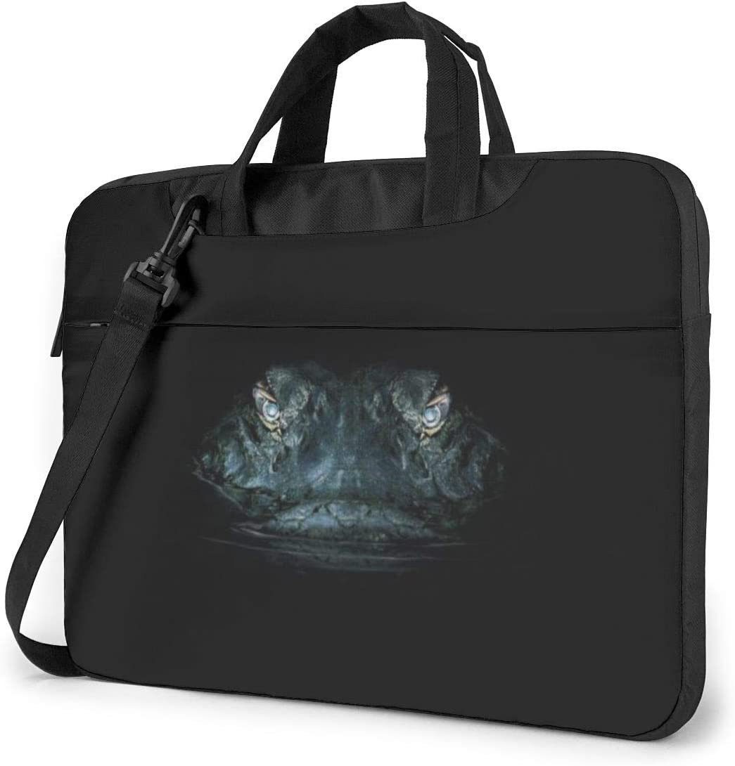 Samsung Sony MacBook Laptop Shoulder Bag Carrying Laptop Case 13 Inch Notebook Crocodile Eye in Dark Computer Sleeve Cover with Handle Business Briefcase Protective Bag for Ultrabook Asus