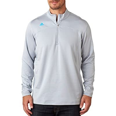 Adidas Men's Moisture Wicking Half-Zip Pullover Jacket