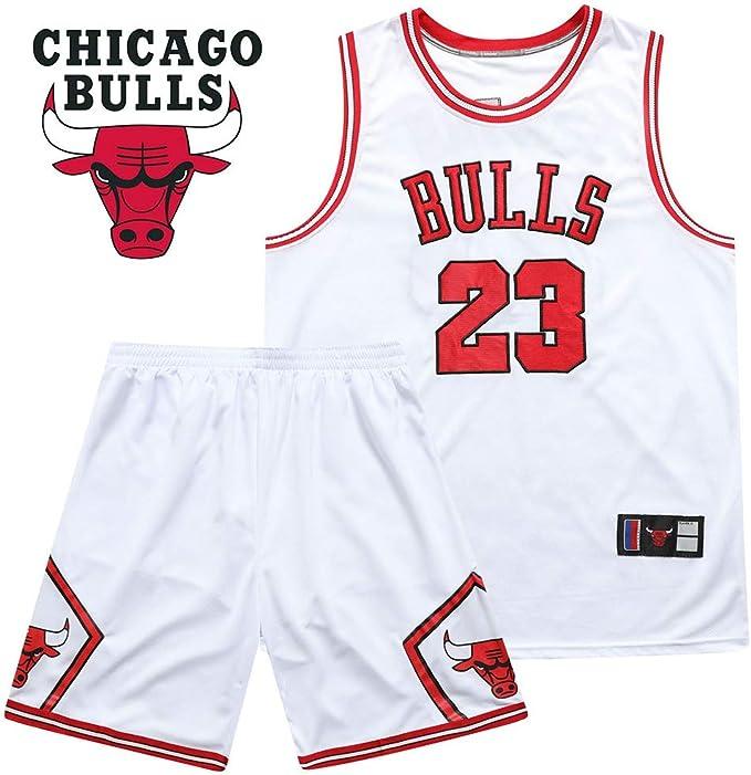 WYK # 23 Chándal de Baloncesto Bulls Jordans, Traje de Jersey ...
