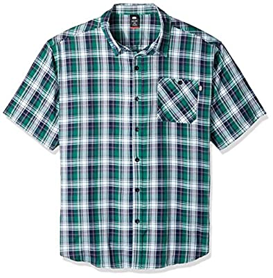 Ecko Unlimited Men's Big and Tall Town Hall Short Sleeve Shirt