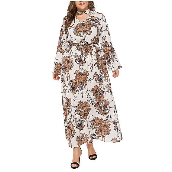 Royaume-Uni disponibilité f1d60 bb476 Robe Droite Fluide Col V Femme Robe ImpriméE Fluide Robe ...