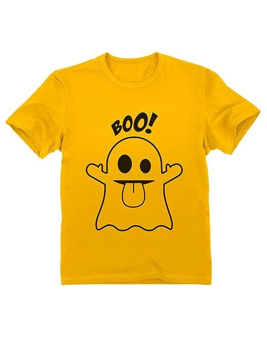5a137b1e6 Camiseta para niños - Boo Ghost Lucir en Halloween  Amazon.es  Ropa y  accesorios
