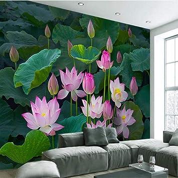 Mmneb Fondo De Pantalla Personalizado Grande Zen Clásico Lotus Lotus Pond Nuevo Televisor Chino Sala De Estar Dormitorio Decoración Del Hogar-120X100Cm: Amazon.es: Bricolaje y herramientas