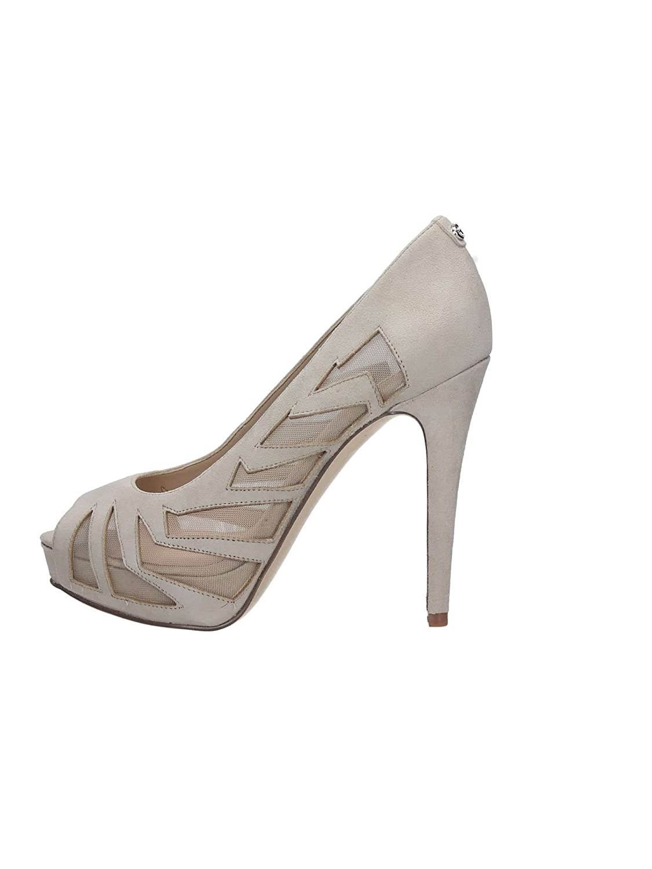 Guess - Zapatos de vestir de ante para mujer mujer mujer beige beige 513b3f