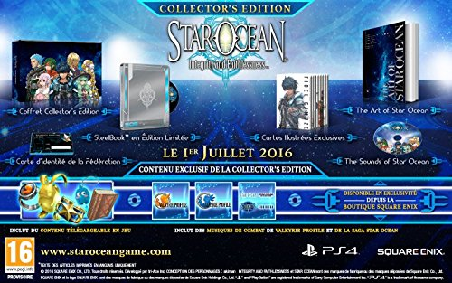 STAR OCEAN : INTEGRITY AND FAITHLESSNESS - COLLECTOR'S EDITION [PS4]