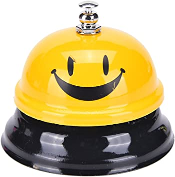 Schools Reception Areas Hospitals Warehouses Restaurants E GBSELL Colorful Letter Desk Bell Service Bell for Hotels