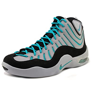 Nike Air Bakin Wolf Grey Turbo Green (316383-004) mens Shoes