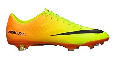 669c3ab13 Nike Mercurial Vapor IX Soccer Cleats (Volt Bright Citrus Black) (7