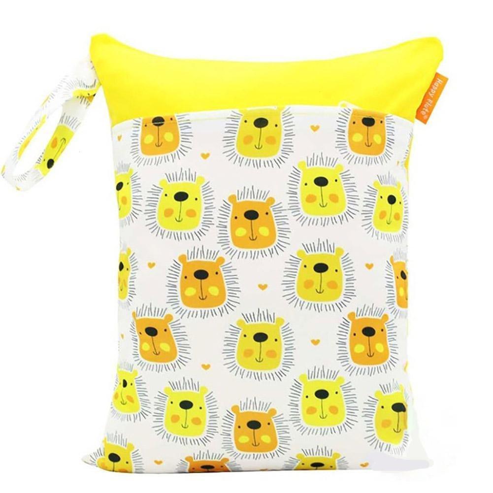 1 STÜCK Babywindel Lagerung Wasserdichte Tasche Doppel-reißverschluss-tasche Outdoor Windel Tasche (colorful1) DAHAI FU