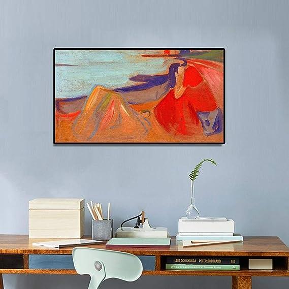 Geiqianjiumai Pintura al óleo Abstracta clásica melancólica póster ...