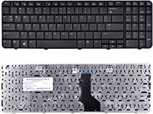 Eathtek Replacement Keyboard for HP G60 G60T G60-530US G60-531NR G60-533CL G60-535DX G60-536NR G60-549DX G60-552NR Series Black US Layout