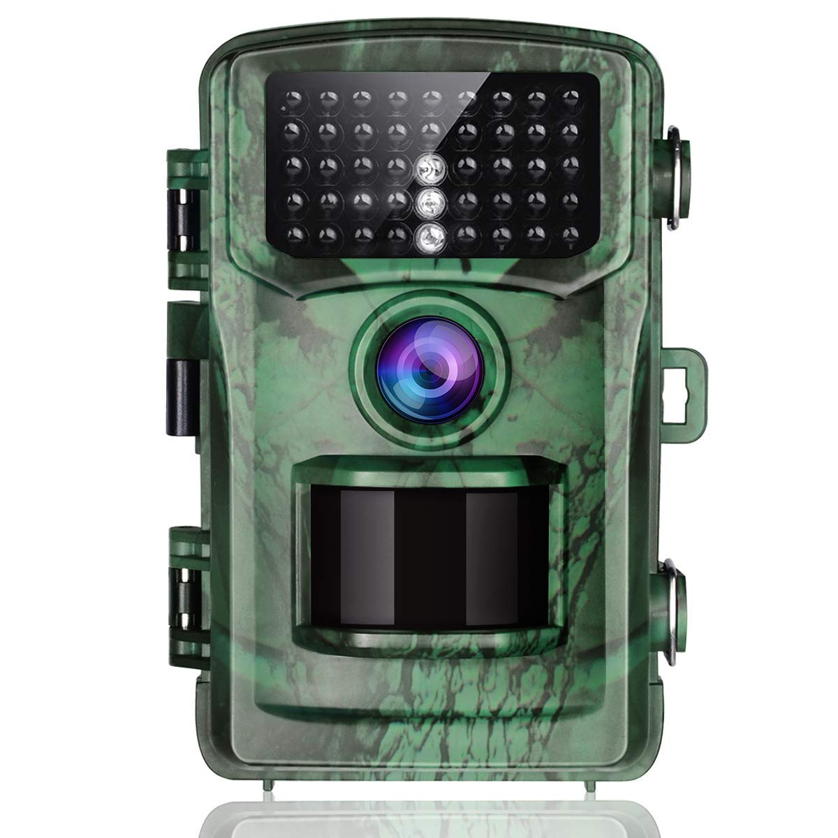TOGUARD Trail Camera 14MP 1080P Game Hunting Cameras with Night Vision Waterproof 2.4 LCD IR LEDs Night Vision Deer Cam Design for Wildlife Monitoring and Home Security