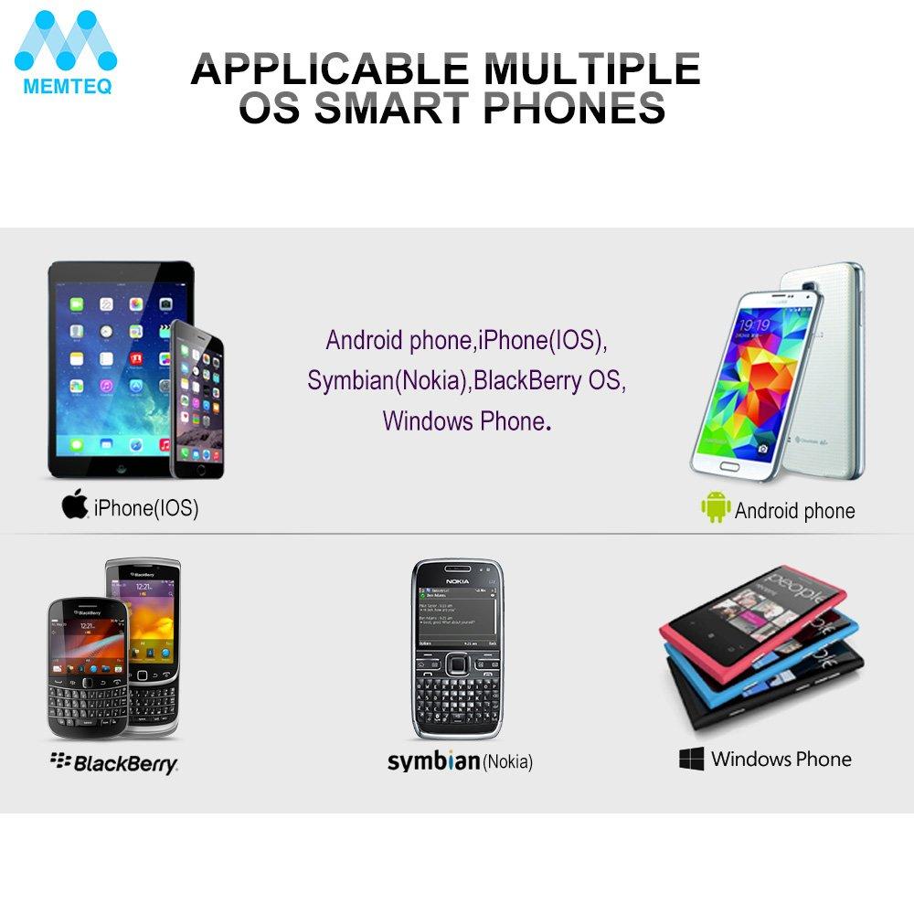 Memteq LS12 - SmartWatch Bluetooth para Android, iOS, Symbian ...
