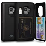 TORU CX PRO Compatible with Samsung Galaxy S9 Case - Protective Dual Layer Wallet with Hidden Card Holder + ID Card Slot…