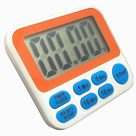searon Digital brannan/up temporizador con reloj (12 horas) para cocinar laboratorio Fitness