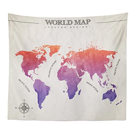 Transer world map wall hanging tapestry wall bedspread beach towel transer world map wall hanging tapestry wall bedspread beach towel mat blanket table 59quot gumiabroncs Choice Image