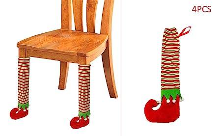 Juego de 4 Piezas Navidad Mueble Protector Almohadillas Patas de ...