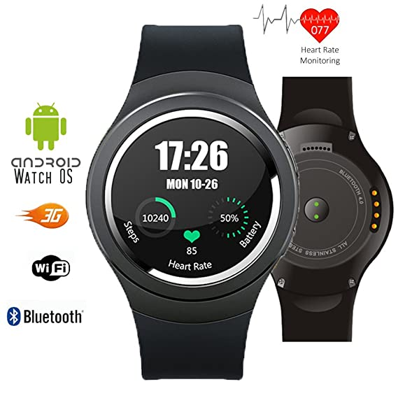 inDigi® Universal Bluetooth SmartWatch For Apple iOS Samsung Android Smart Phone HTC NEW