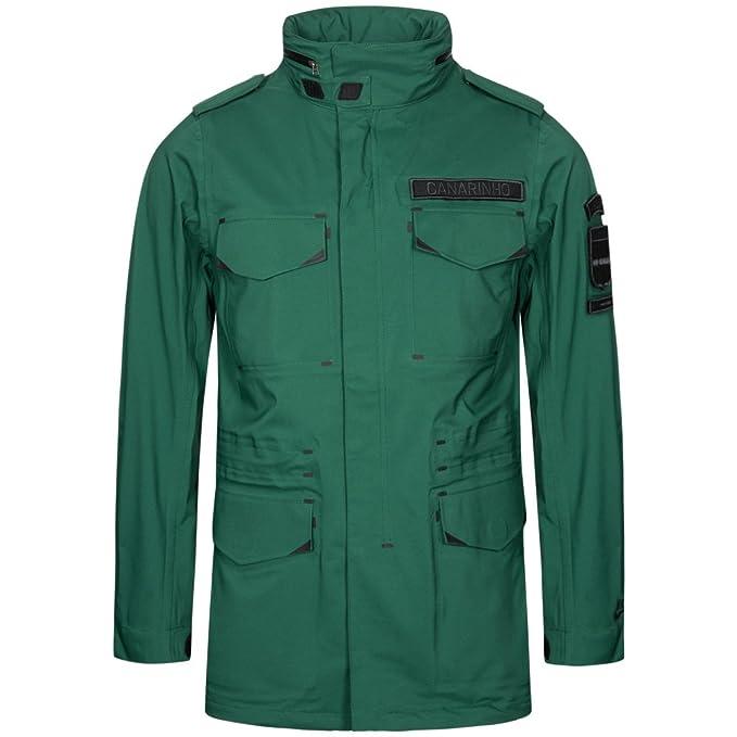 Lana Nike M65 chaqueta para hombre - repelente al agua chaqueta Militar - verde oscuro Verde verde oscuro X-Large: Amazon.es: Ropa y accesorios