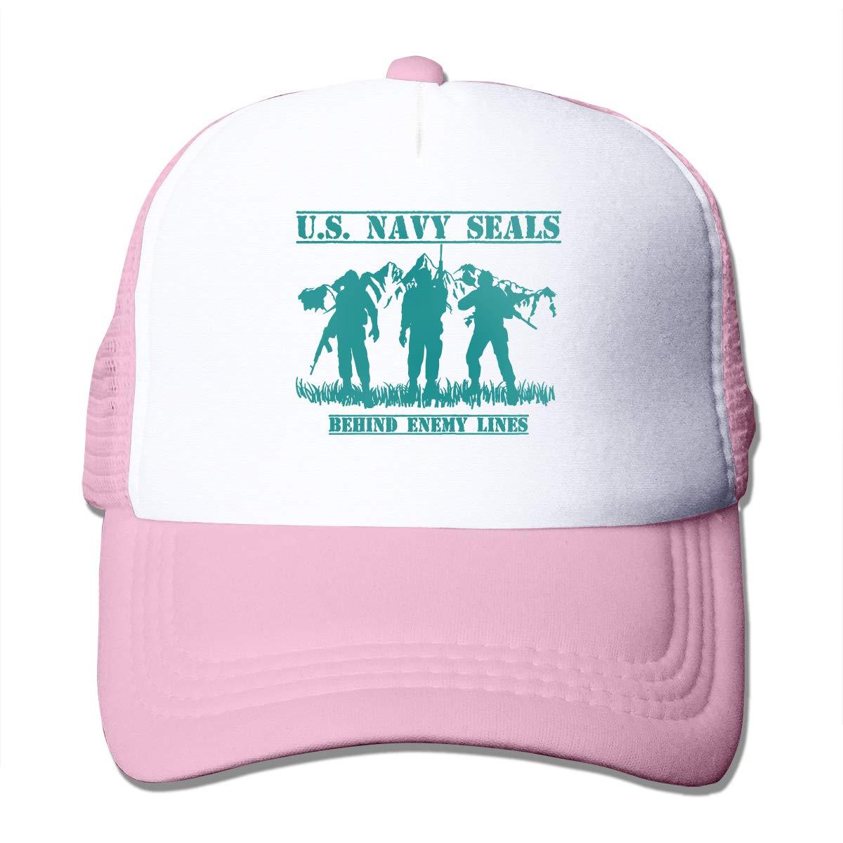US Navy Seals Behind Enemy Lines Adult Mens Sling All-Star Adjustable Hat Sun Hat