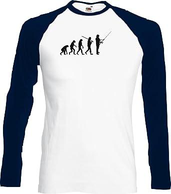 Base Long Shirt Evolution Angeln Fischen Fischer Angler diverse ...