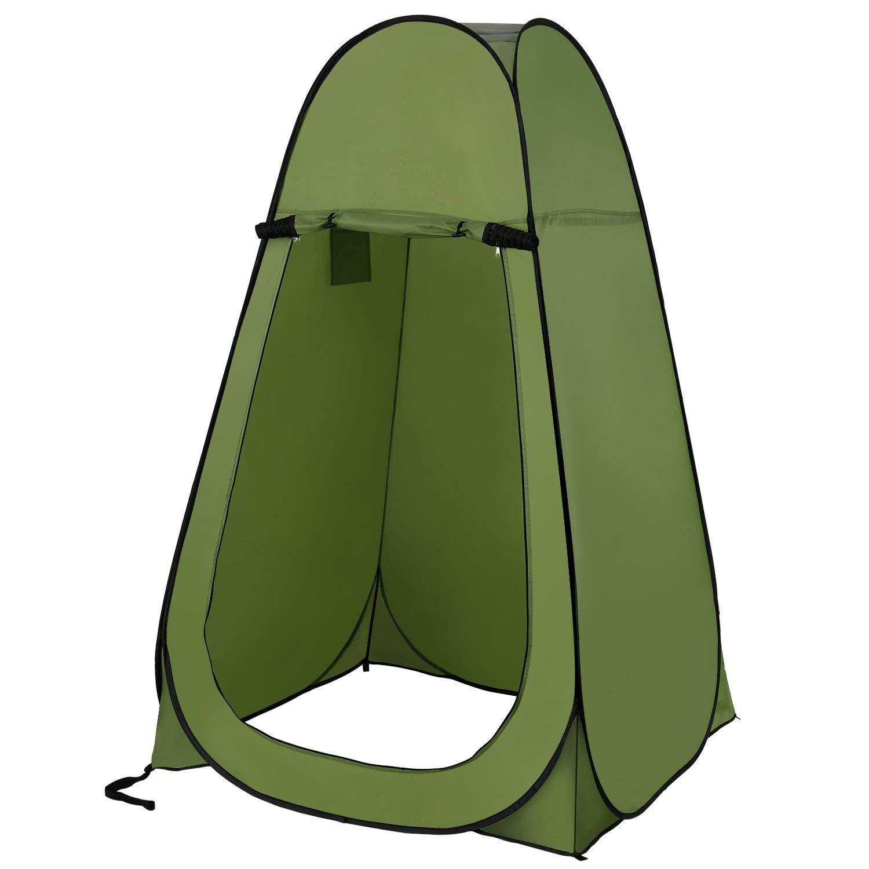 Sannii Pop up Zelt, Wasserdichte Outdoor Umkleidekabine Portable Faltbare Wasserdichte Zelt, Camping Strand Dusche 231374